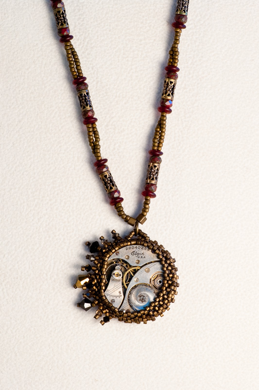 Victorian Beaded Watch Works