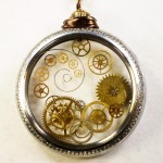steampunk deconstructed pocketwatch