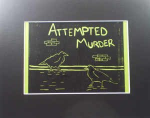 yellow version attempted murder crows